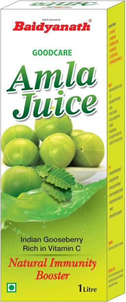 Baidyanath Amla Juice - Rich in Vitamin C and Natural Immunity Booster