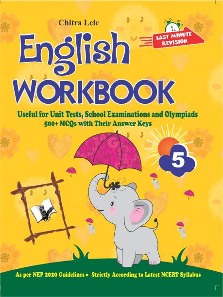 English Workbook Class 5 - Useful for Unit Tests, School Examinations and Olympiads