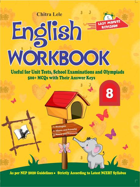 English Workbook Class 8 - Useful for Unit Tests, School Examinations and Olympiads