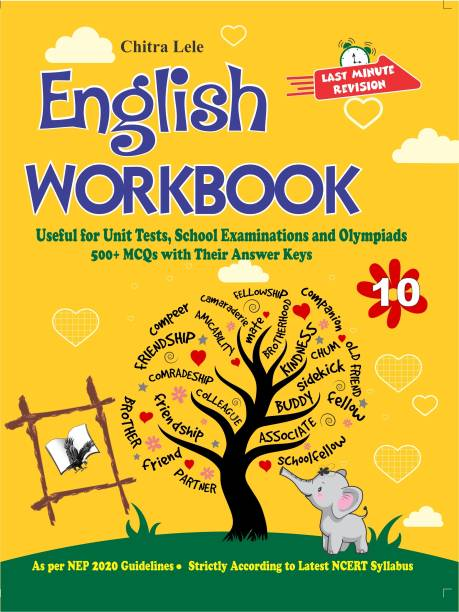 English Workbook Class 10 - Useful for Unit Tests, School Examinations and Olympiads