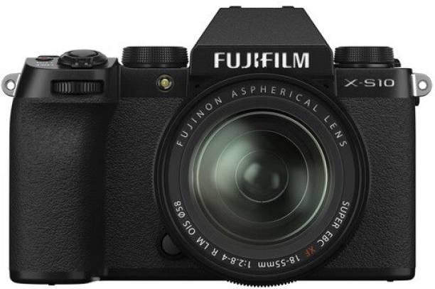 FUJIFILM X Series X-S10 Mirrorless Camera Body with XF 18 - 55 mm Lens