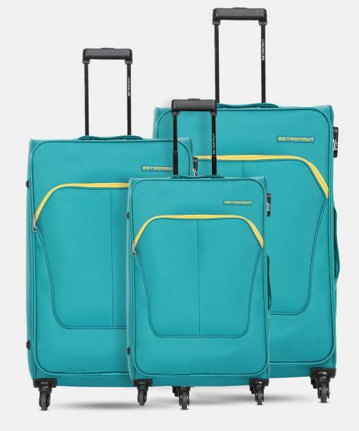 METRONAUT Supreme Combo Set (30inch+26inch+22inch)-Olive Cabin & Check-in Luggage - 30 inch