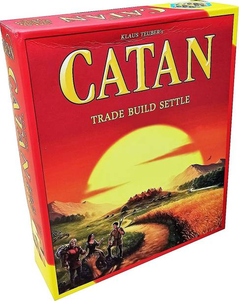 vk's Catan Board Game 5th Edition with Extension(5-6 player), Multi Color Strategy & War Games Board Game