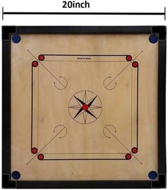 Xtreme High qality hand made small size carrom board with coins/stricker Carrom Board Board Game
