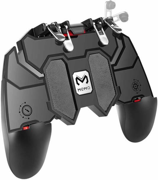 NOYMI PUBG 6 Fingers Trigger Controller, Mobile Gamepad-6 Finger Game pad,Joystick Remote Grip Shooting Aim Keys Game Gaming Accessory Kit  Gaming Accessory Kit