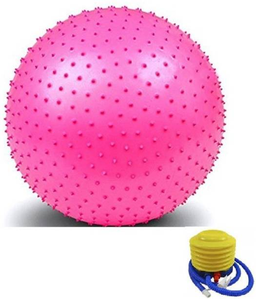 Giffy ® Spiked Non-Slip Stability Fitness 75 cm Gym Ball, Yoga Ball Gym Ball