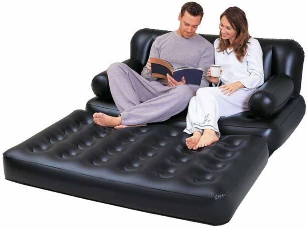 Shukan Sky Polyester 2 Seater Inflatable Sofa