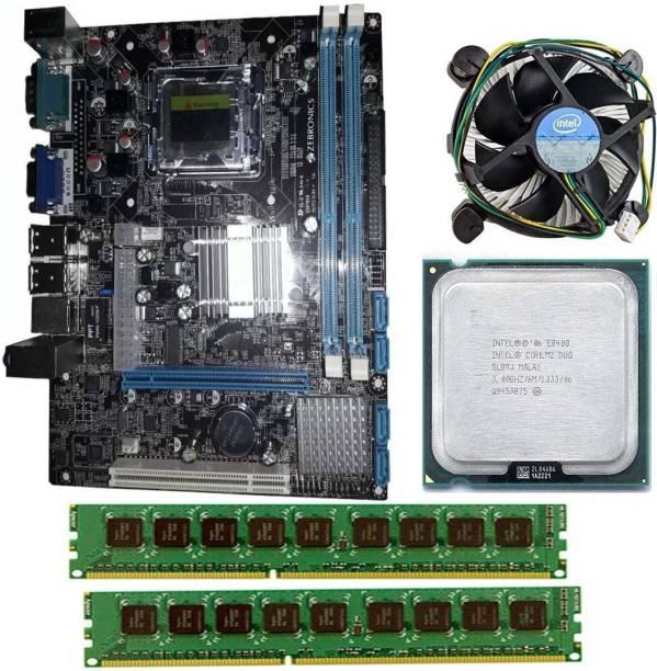 ZEBRONICS ZEB-G41-D3-4GB-COMBO Motherboard