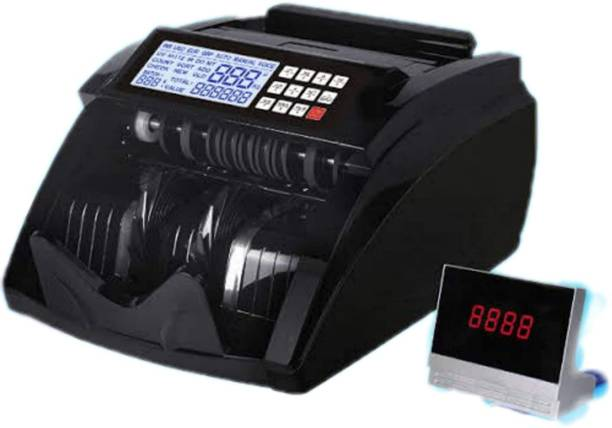 DRMS STORE Best Selling Money/Note/Currency Counting Machine For All New and Old Notes 10,20,50,100,200,500,2000 with Fake Note Detection and LCD Display Note Counting Machine