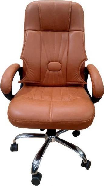 Rastogi Office Revolving Ergonomic Chair Leatherette Office Executive Chair