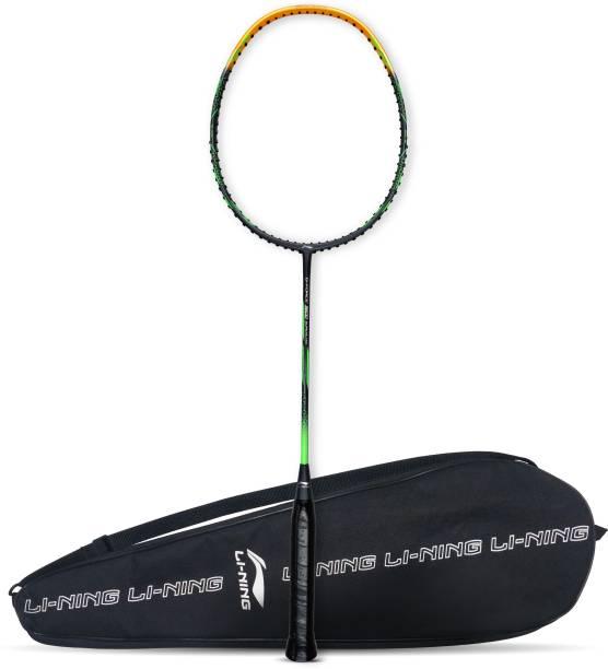 LI-NING G-Force 3600 Superlite Grey, Gold Unstrung Badminton Racquet