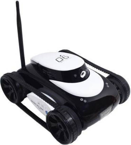 Radha Kripa i-SpyTank Wi-Fi Enabled HD Camera IOS/ANDROID Mobile APP Controlled Robot Car RC Tank Toy with HD Camera