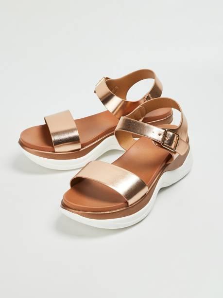 GINGER Women Gold Heels