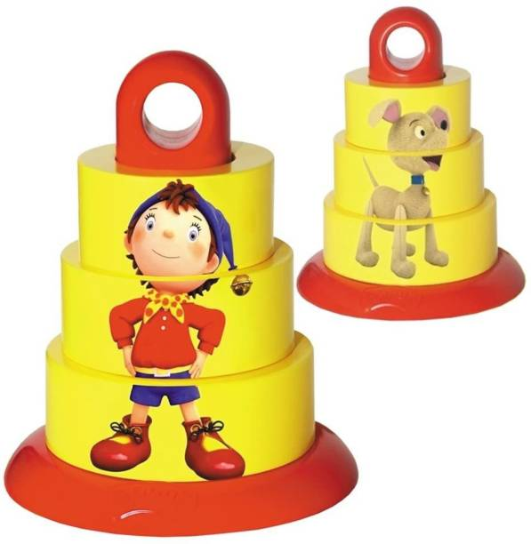 FUNSKOOL Noddy & Friends My First Stacker Baby Stacking Toy, CREATIVE, EDUCATIONAL TOY