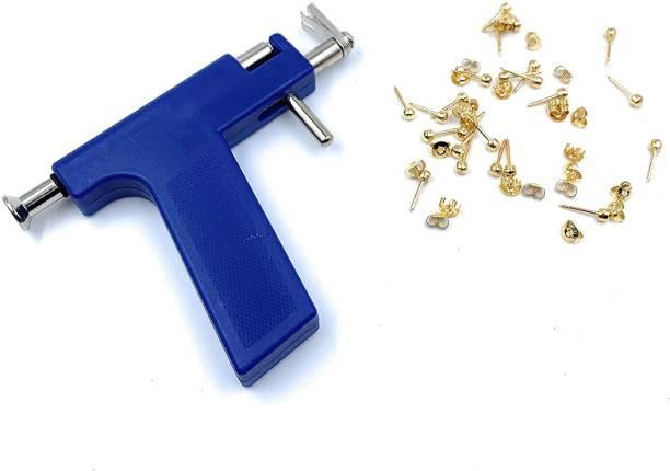 M Mod Con Professional Piercing Gun Tool Kit With Studs Permanent Tattoo Kit