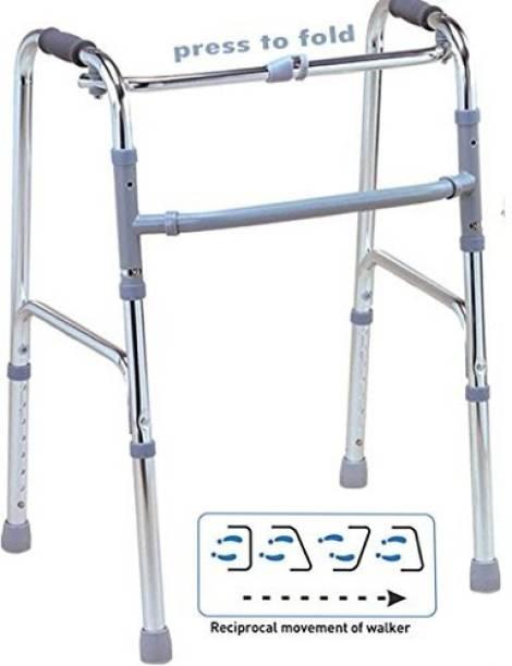 veayva folding alluminium walker height adjustable Walking Stick