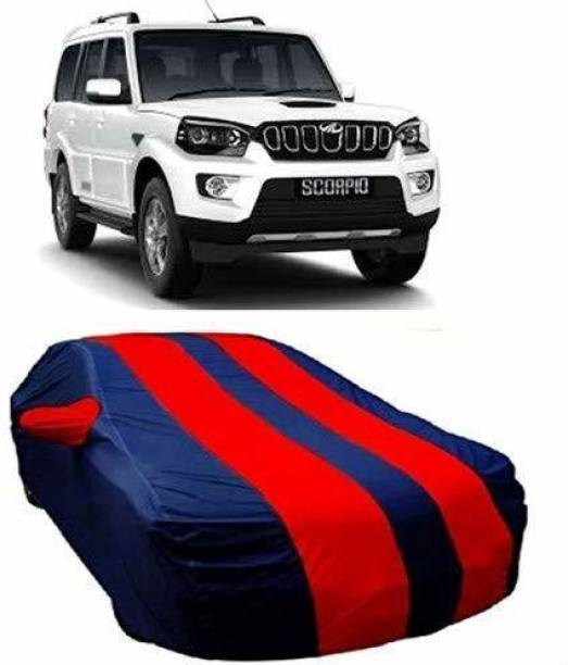 LEOPRODUCTS Car Cover For Mahindra Scorpio (With Mirror Pockets)