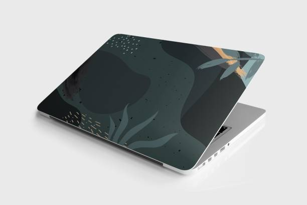 Yuckquee Floral Laptop Skin/Sticker/Vinyl for 14.1, 14.4, 15.1, 15.6 inches for HP,Asus,Acer,Apple,Lenovo printed on 3M Vinyl, HD,Laminated, Scratchproof. Vinyl Laptop Decal 15.6