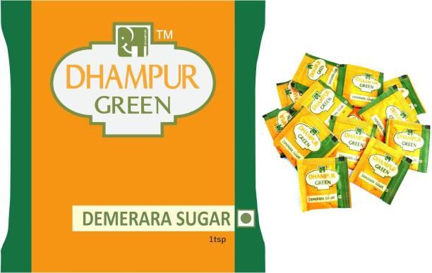 Dhampur Green Brown Sugar(Each 5 gm )Sachets Sugar Sugar