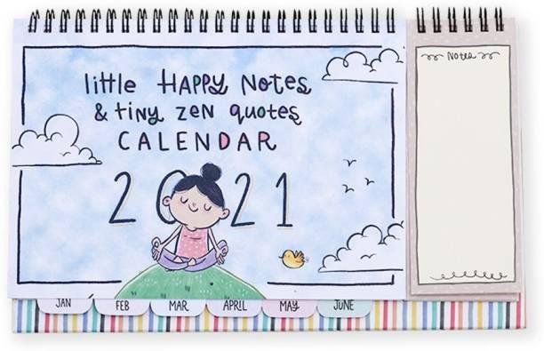 Alicia Souza 2021 Little Happy Notes Desk Calendar 2021 Table Calendar