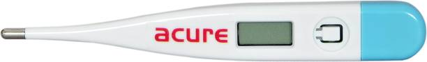 Acure Digital Thermometer   Quick Measurement - Oral & Underarm Temperature in Celsius & Fahrenheit, Water Resistant for Easy Cleaning Digital-thermoeter Thermometer