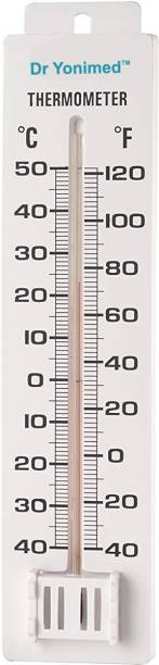 DR YONIMED Manual Room Temperature Thermometer -40 Deg C to 50 Deg. C All-in-One Analog Moisture Measurer