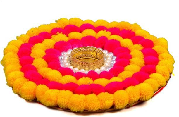 crafteddiyas Gold Plated Table Diya