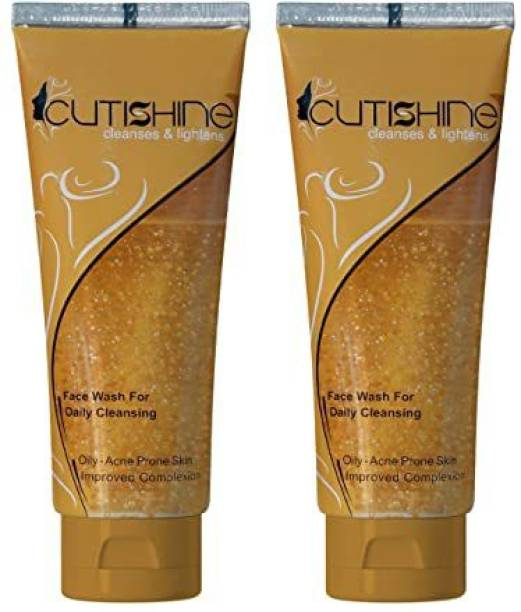 Cutishine CLEANSES FACE WASH (PACK 2) Face Wash