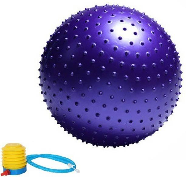 Giffy ® 75 cm Spiked Professional Grade Anti Burst Exercise/Gym Ball for Gym, Home Gym Ball