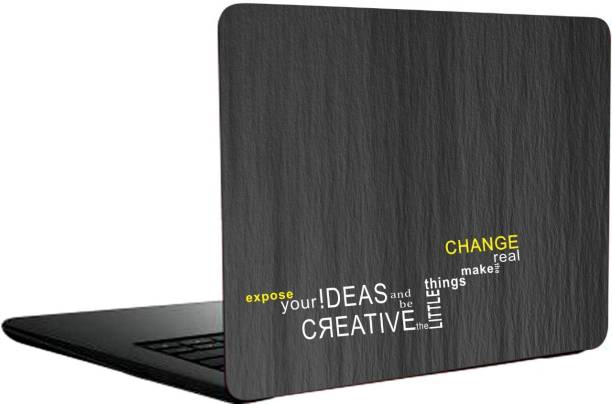 Just Rider Creative Quots or avery imported vinyl with lamination Laptop Decal 15.6 vinyl Laptop Decal 15.6
