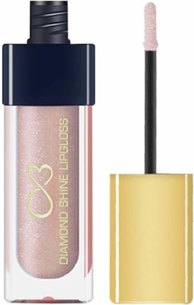 CVB LG602-005 Diamond Shine Lip Gloss for Supreme Shine, Glide-On Lipstick for Glossy Effect, Transparent Lip Makeup