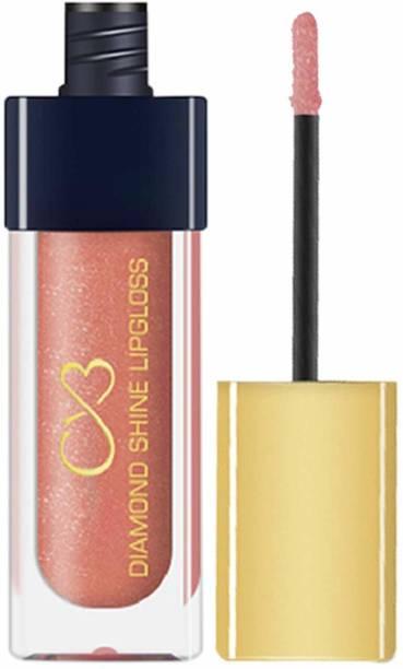 CVB LG602-006 Diamond Shine Lip Gloss for Supreme Shine, Glide-On Lipstick for Glossy Effect, Transparent Lip Makeup