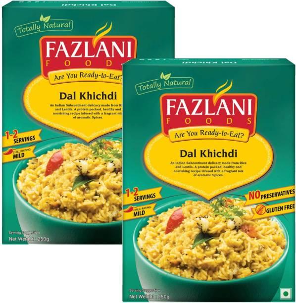 FAZLANI FOODS Ready to Eat Dal Khichdi (2 Pack-250gms Each) 500 g