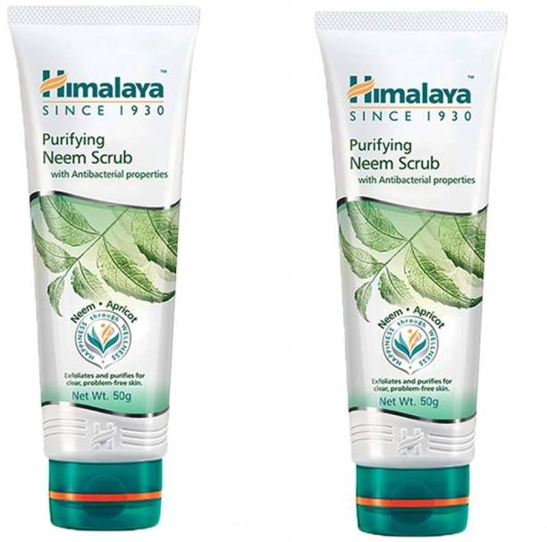 HIMALAYA Purifying Neem Scrub 2 x 50 ml Packs Scrub
