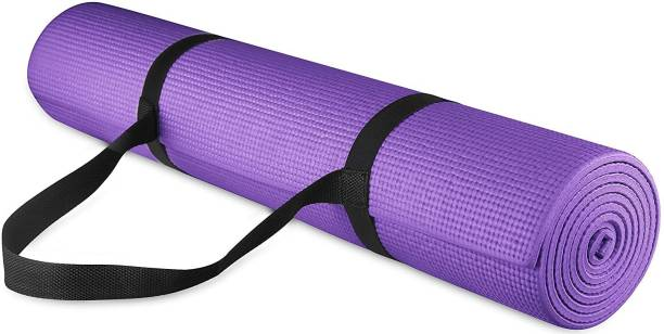 Grandvilla Anti Skid Yoga Mat for Home Gym and Outdoor Workout with Bag and Strap 6 mm mm Exercise & Gym Mat