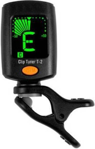 TechBlaze Digital Guitar Tuner with Three Picks, Digital Calibration Tuner with LCD Display for Guitar Easy to Use Highly Accurate Clip-on Electronic Tuner Specialized for Acoustic and Electric Guitar Automatic Digital Tuner