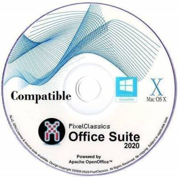 Compatible OfficeSuite 2020 Compatibles With Office 365 2016 2013 2010 2007 Home Student Professional & Business Software DVD CD Powered by Apache OpenOfficeTM for PC Windows 10 8 7 Vista XP & Mac OS X