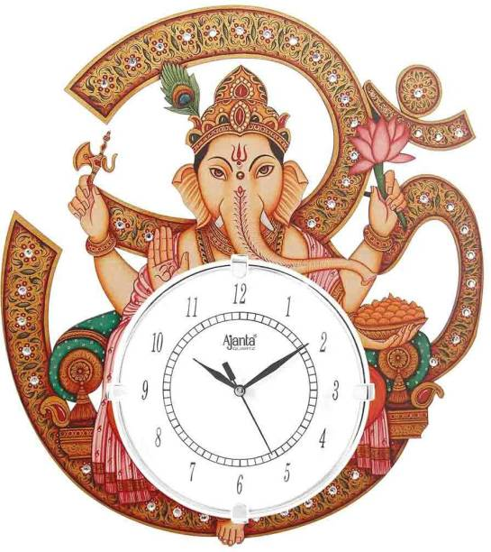 AJANTA Analog 38.4 cm X 34.4 cm Wall Clock