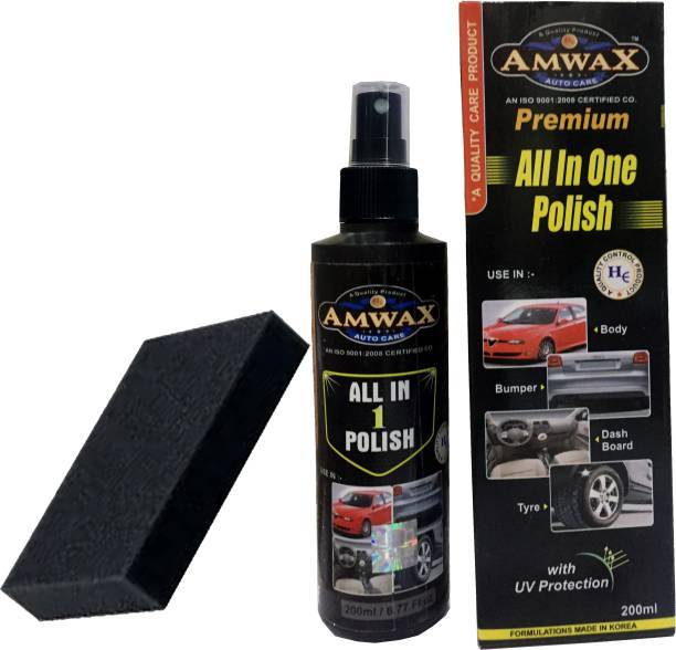 amwax Liquid Car Polish for Exterior