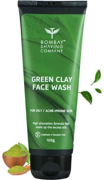 BOMBAY SHAVING COMPANY Green Clay & Matcha Tea  Face Wash