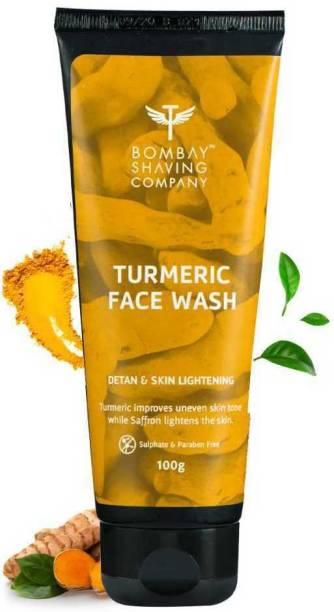 BOMBAY SHAVING COMPANY De-Tan & Natural Glow Turmeric  Face Wash