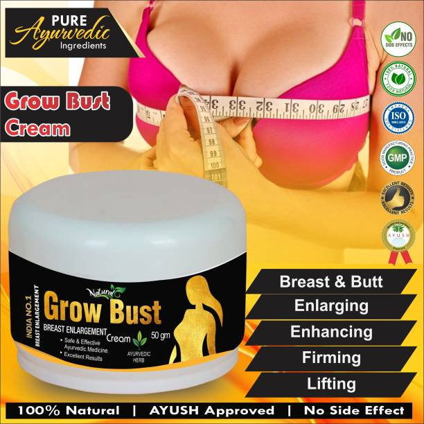 Natural Grow Bust Herbal Ayurveda Cream For Body Toner For women's