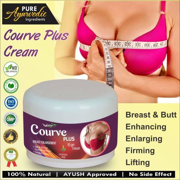 Natural Curve Plus Herbal Cream For Women's Health Care 100% Ayurvedic