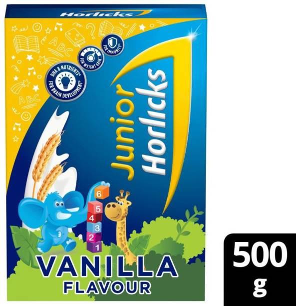 Junior Horlicks Vanilla Flavour