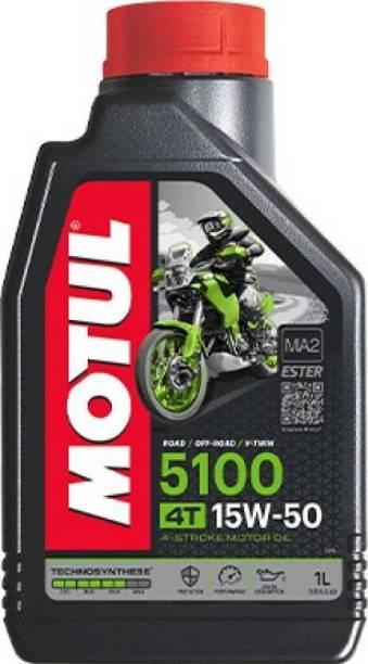MOTUL 5100 15W-50 Technosynthese Ester Synthetic Blend Engine Oil