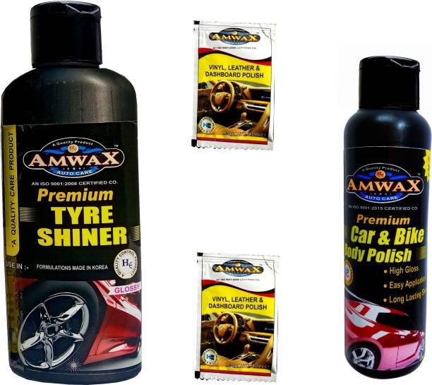 amwax T250B120D10M2 310 ml Wheel Tire Cleaner