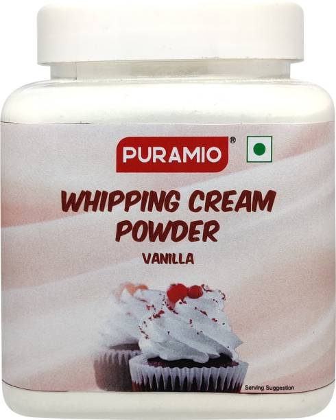 PURAMIO Whipping Cream Powder (Vanilla), Icing