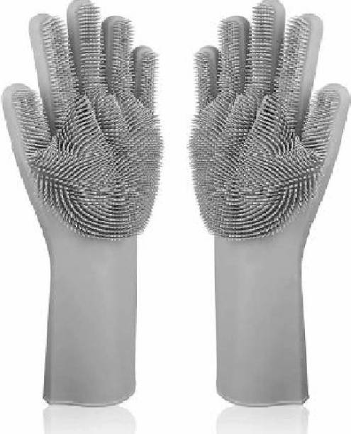 LDL silicone wasing gloves