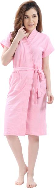 lacylook Pink Large Bath Robe