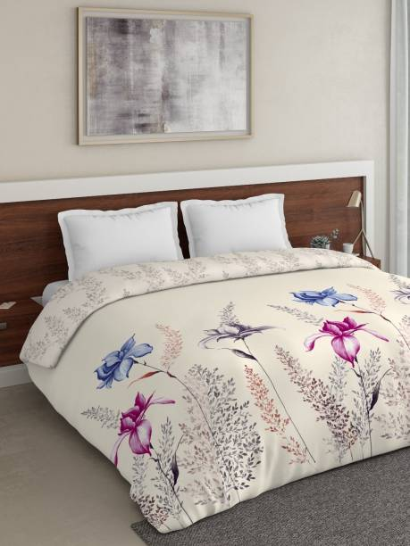 DDECOR Live beautiful Floral Queen Comforter